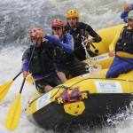Rafting, boiacross, acquaride na Mantiqueira