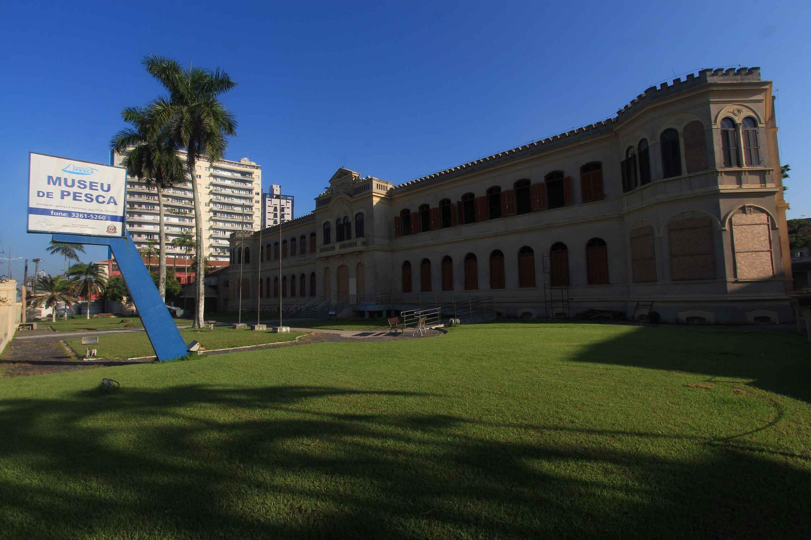 Museu do Instituto de Pesca em Santos