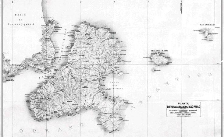 Mapa datado de 1912