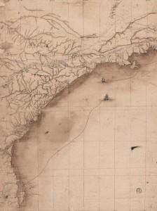 Mapa do século XVIII