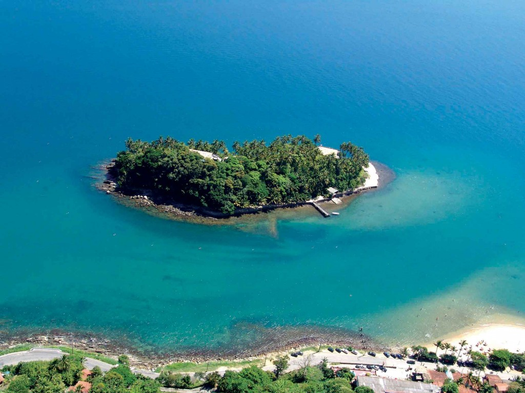 Arquipélago de Ilhabela-Ilha das Cabras. Foto: Robert Werner