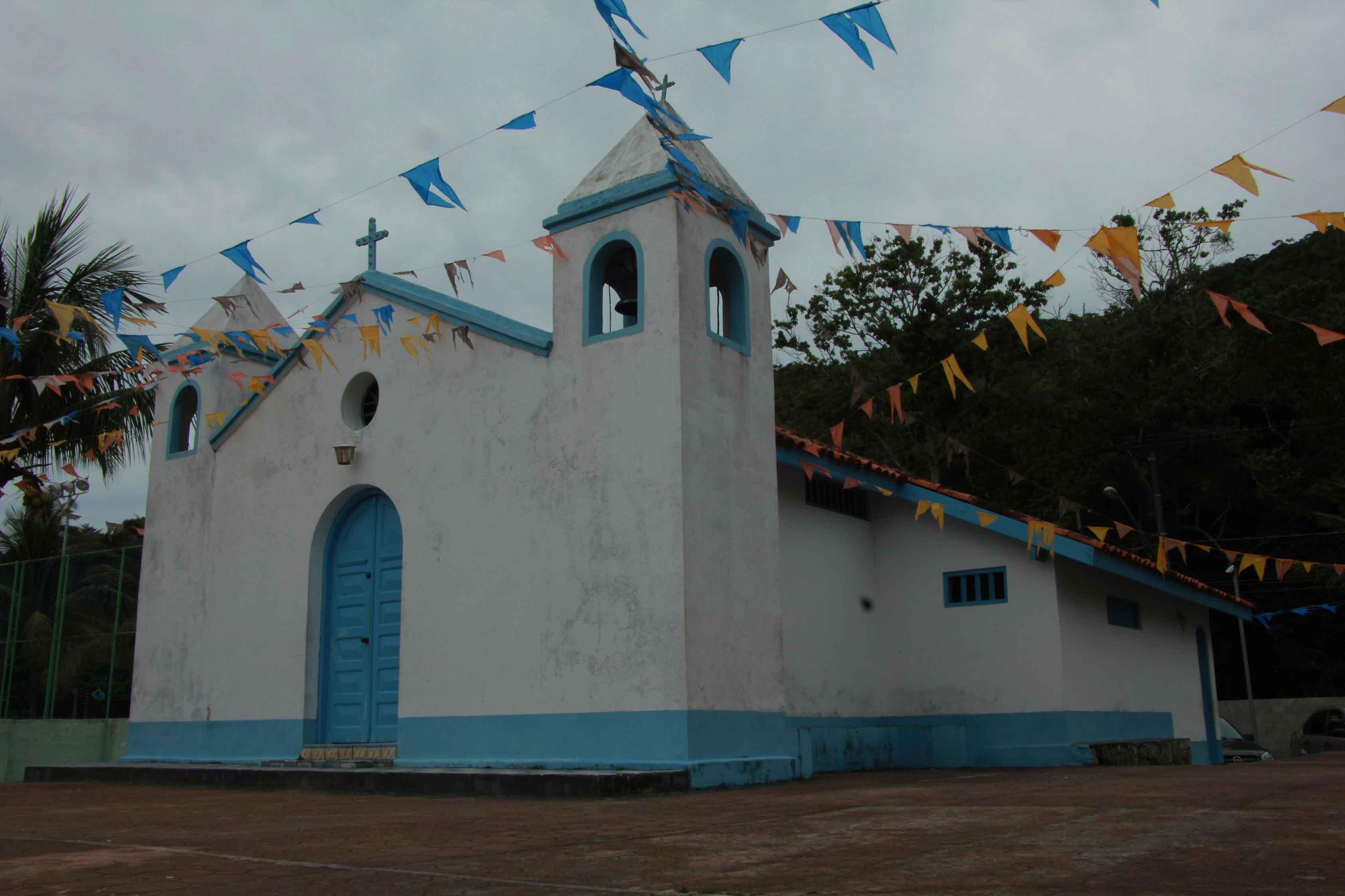 Capelas em Ilhabela- Capela de São Benedito