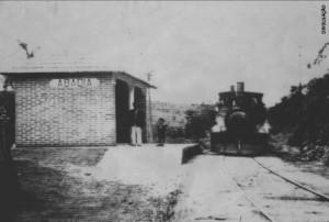 Estação da Estrada de Ferro de Abadia - Louveira