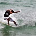 Esportes em São Sebastião: na água