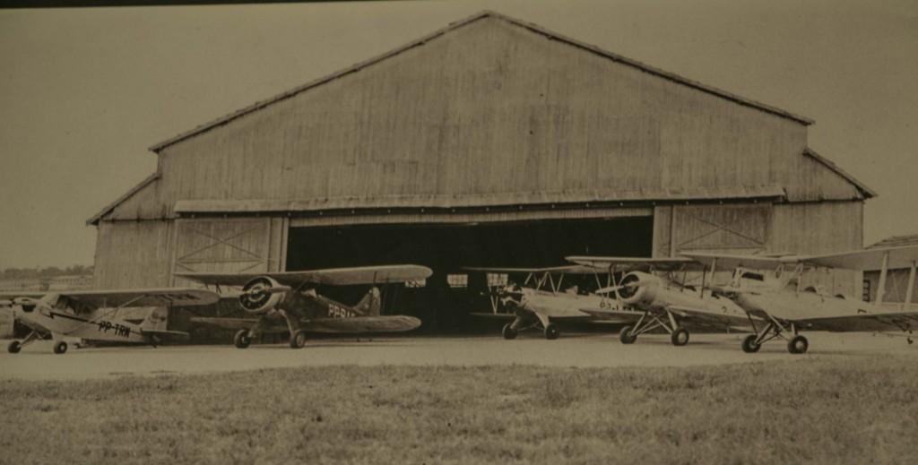 Hangar Comendador Aladino Selmi- década de 50