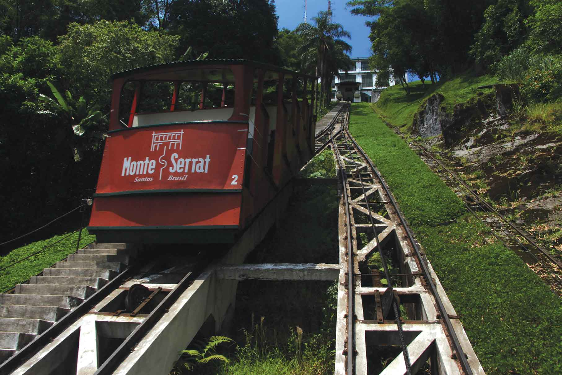 Bonde funicular Monte Serrat