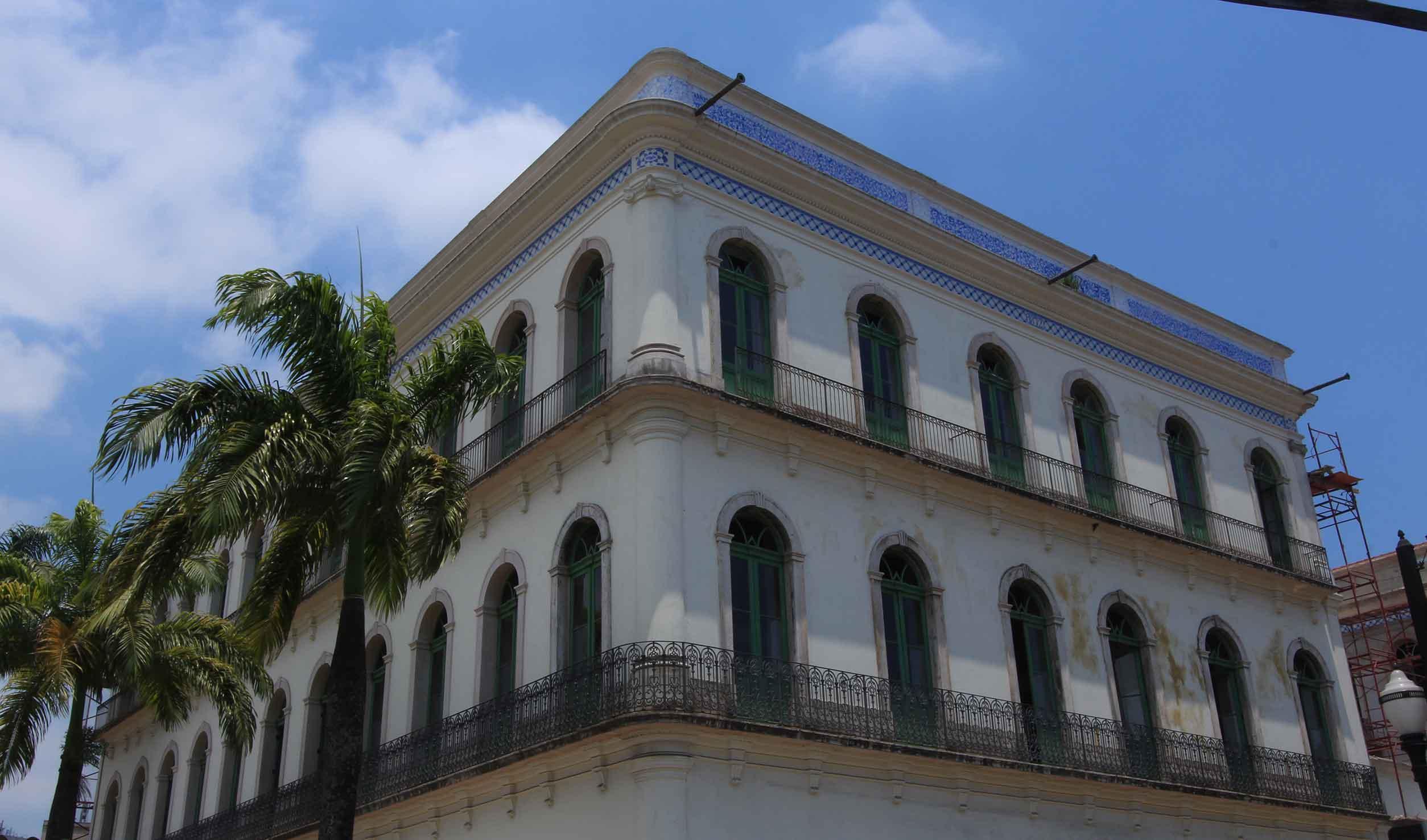 Fachada Museu Pelé