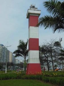 Santos: o maior jardim de praia do mundo - Farol do Canal 4