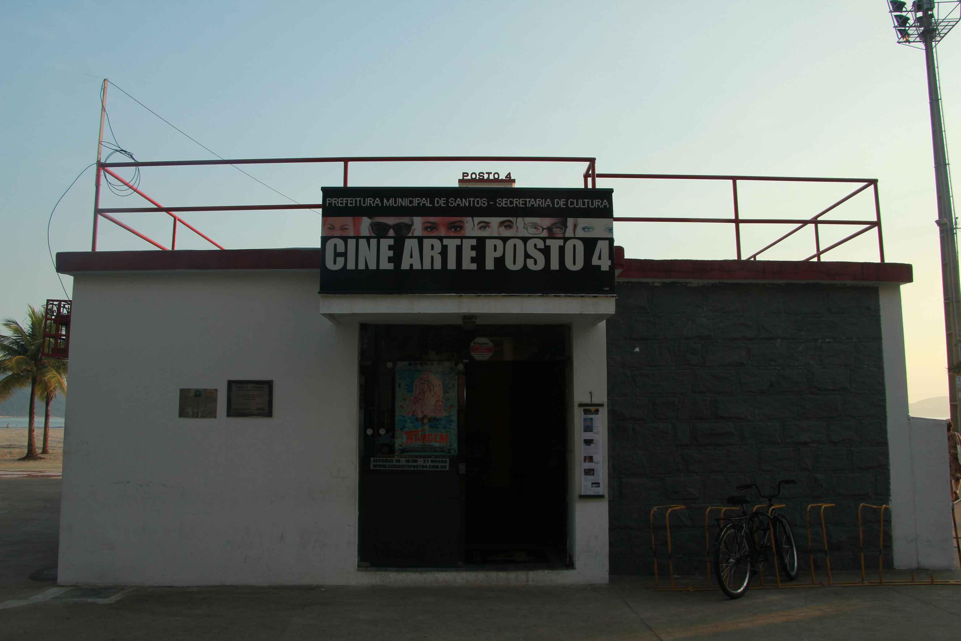 Cine Posto 4 em Santos-turismo-posto-cine-4-canal-3-bx