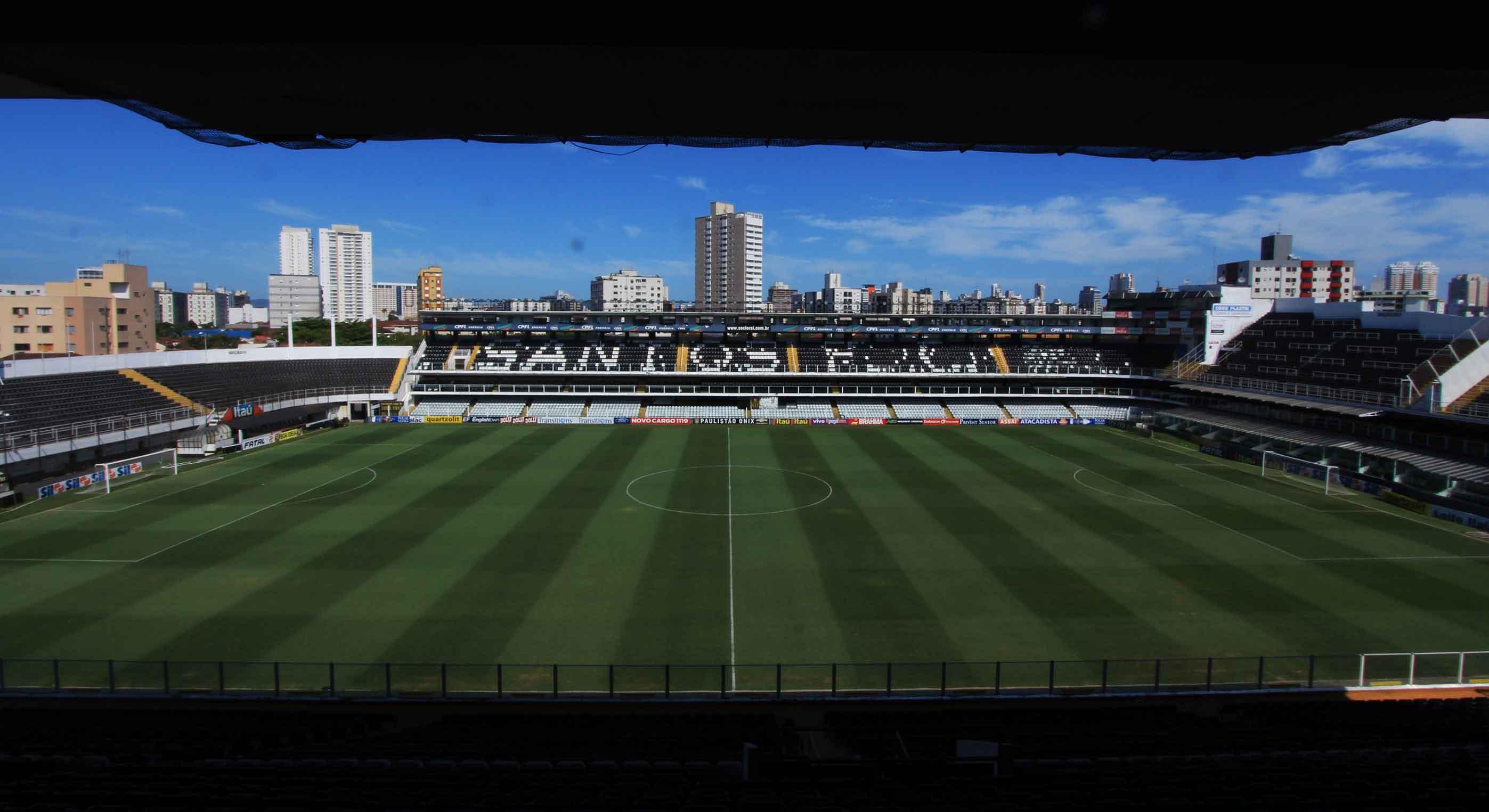 Santos Futebol Clube - Estádio Urbano Caldeira