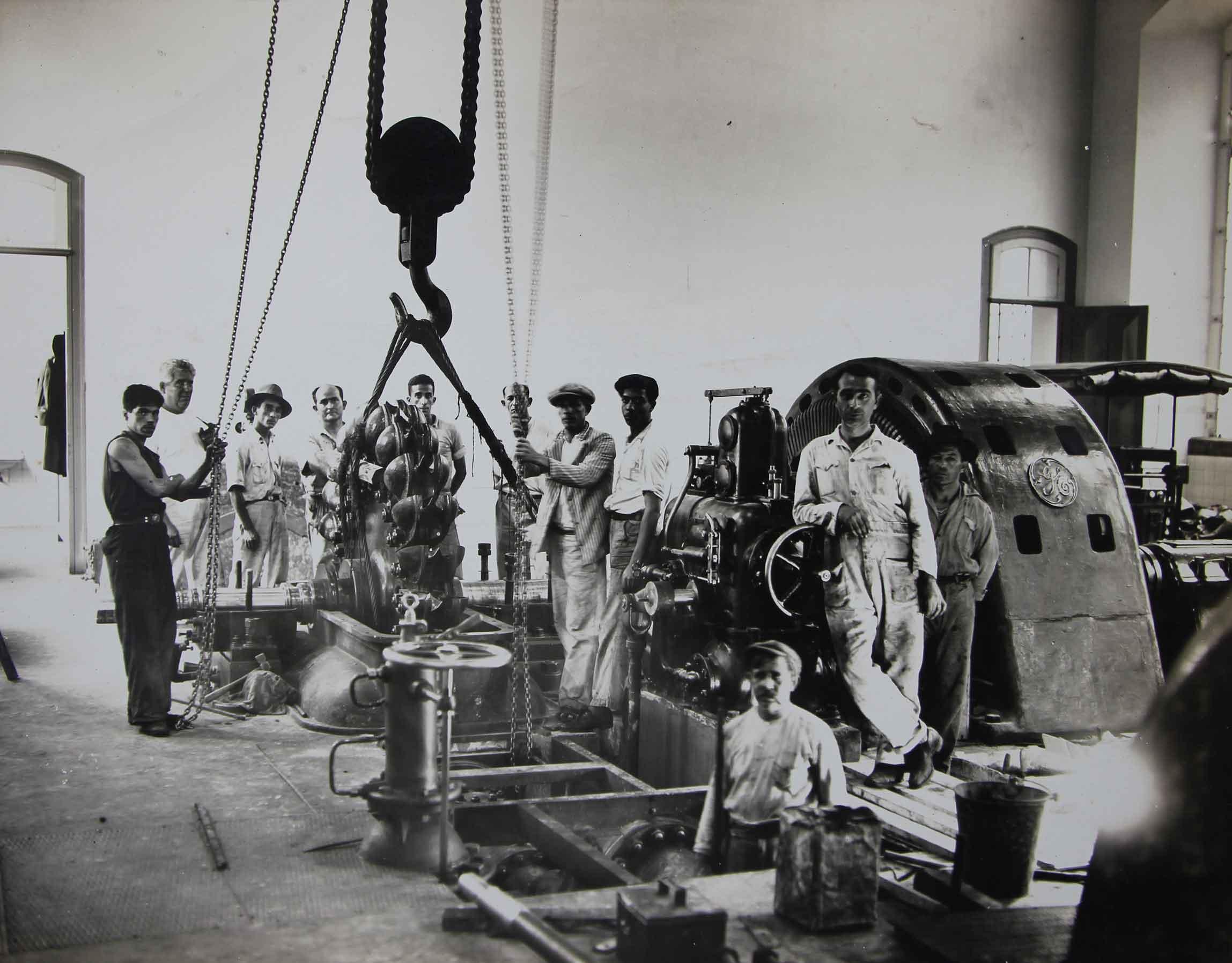 Installação Hydro-Electrica de Itatinga