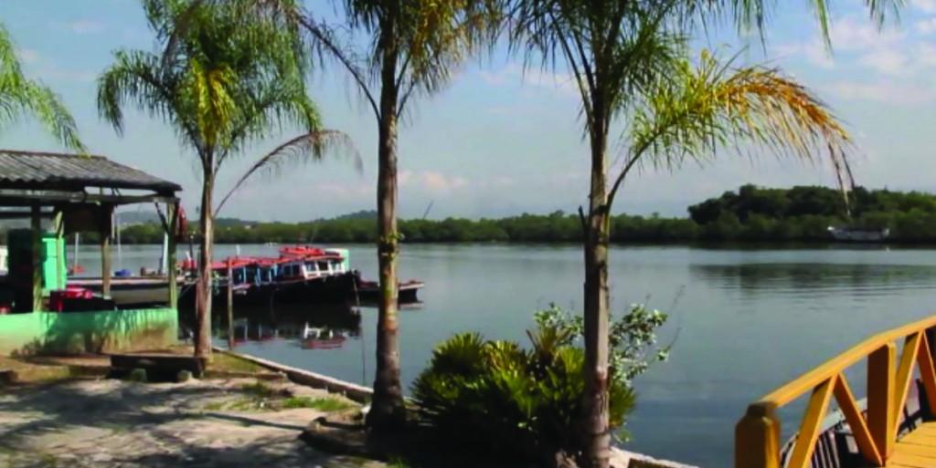 Ilhas de Santos - Ilha Diana (foto acervo iconográfico ONG Parcel)
