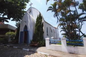 Capela de Santa Terezinha no alto do Morro de Santa Terezinha