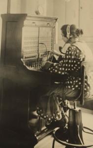 A famosa telefonista