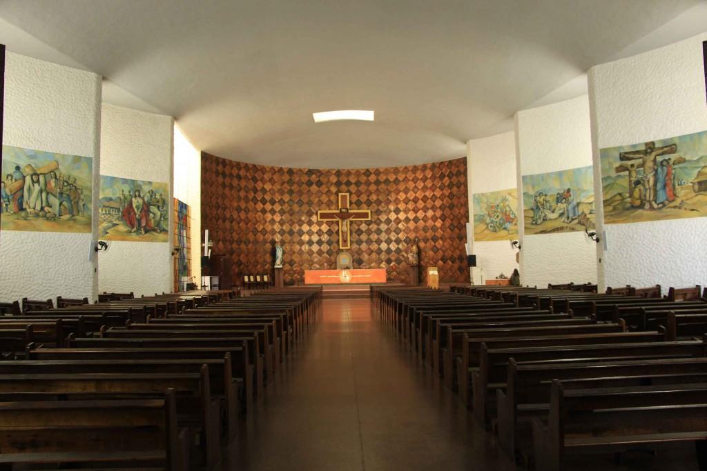 Decoração da Catedral Nossa Senhora da Conceição de Bragança
