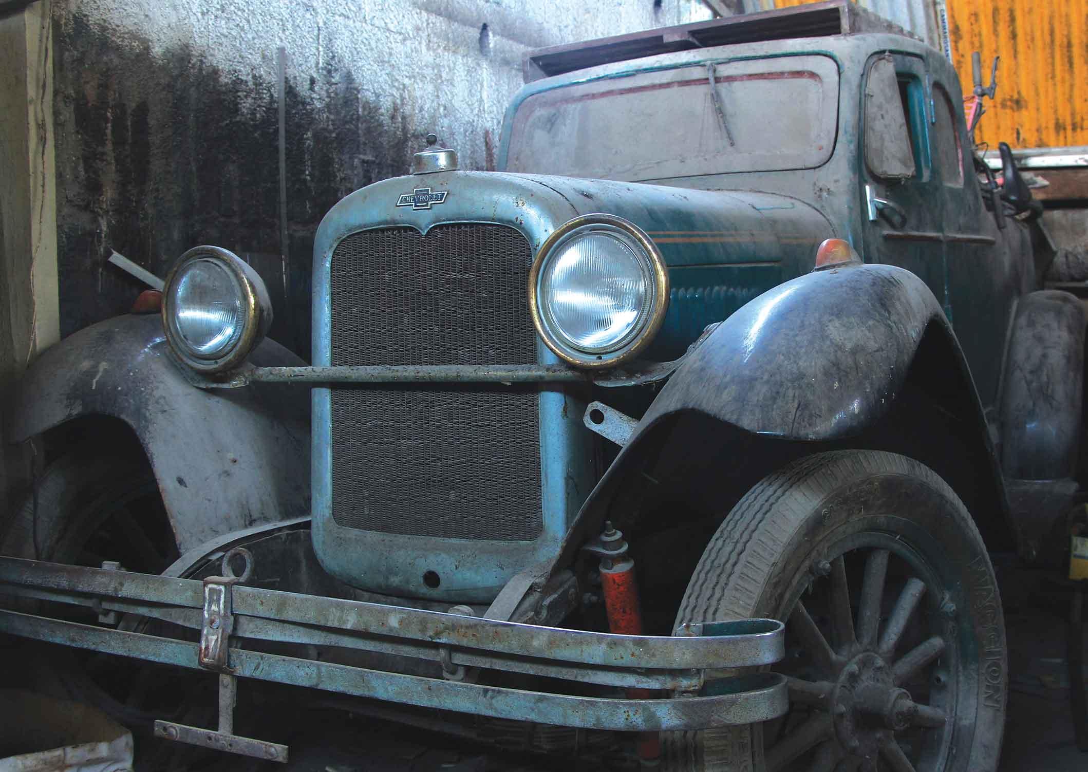 Chevrolet 1928 - Primeiro automóvel a subir o Morro da Nova Cintra em 1938