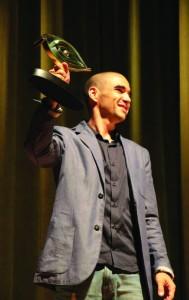 Caio Blat – Homenageado em 2013 pelo Curta Santos