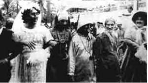 Um dos fundadores do Banho da Doroteia, Lorde Gorila (segundo a direita)