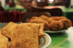 Pastéis variados - Café Carioca