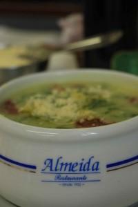 Caldo Verde - Restaurante Almeida