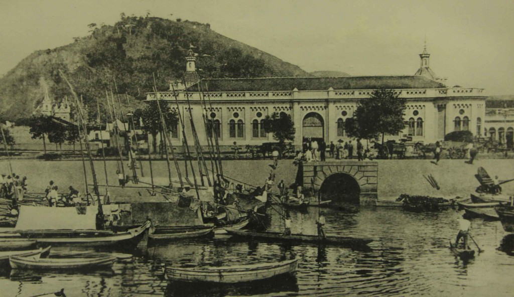 História de Santos-Antigo Mercado Municipal
