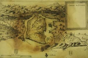 Mapa feito por João Teixeira Albernaz - século XVII