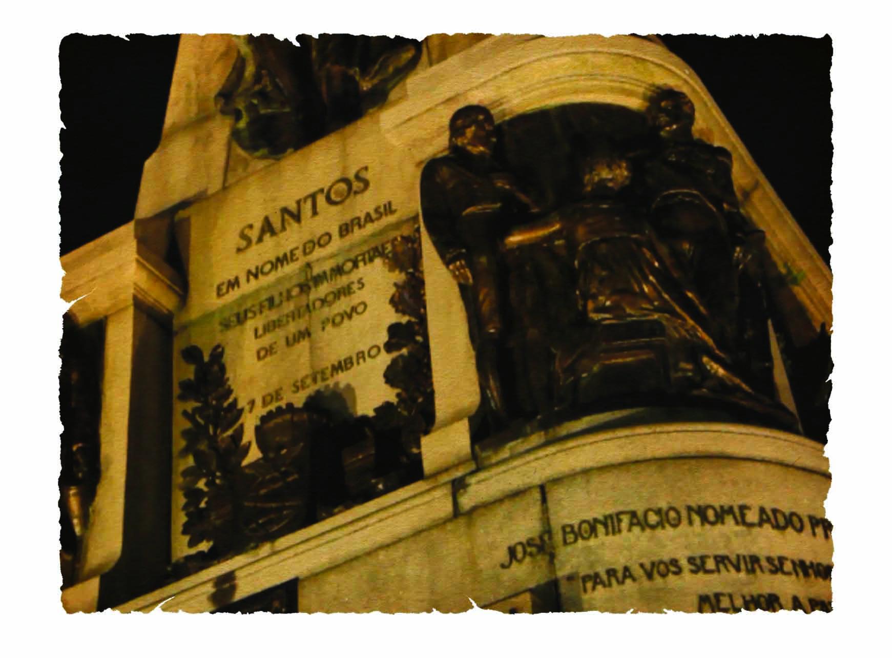 Praça da Independência em Santos