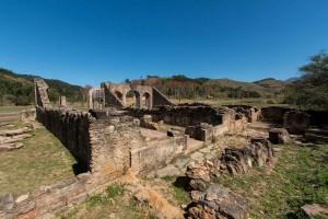 Ruínas da casa do Capitão-mor Fotos Márcio Masulino