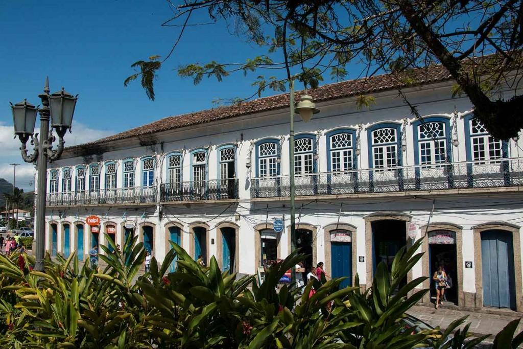 Arquitetura na Rio-Santos-Antigo Prédio dos Correios - Angra dos Reis