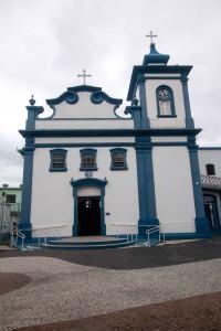 turismo-religioso-na-rio-santos - Igreja Matriz Santo Antonio - Caraguatatuba