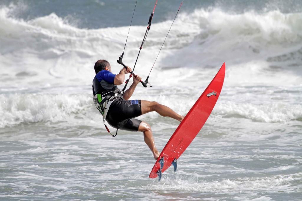 Esportes Rio-Santos - Kitesurf - Foto Matchu Lopes