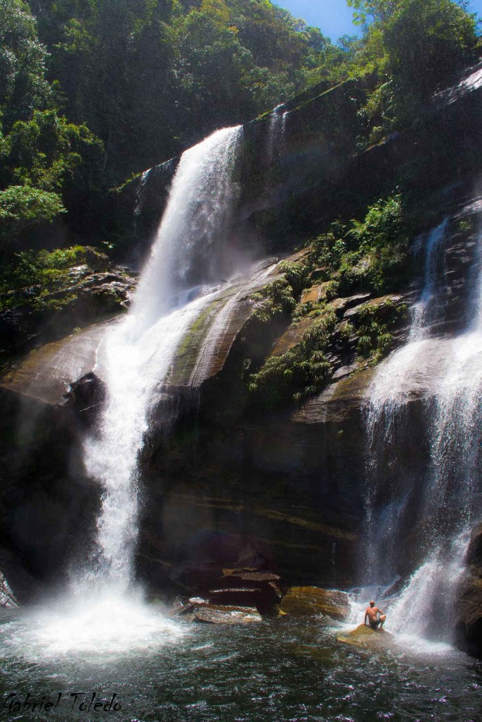 Cachoeiras da Rio-Santos -Do Melancia - Paraty Foto Gabriel Toledo