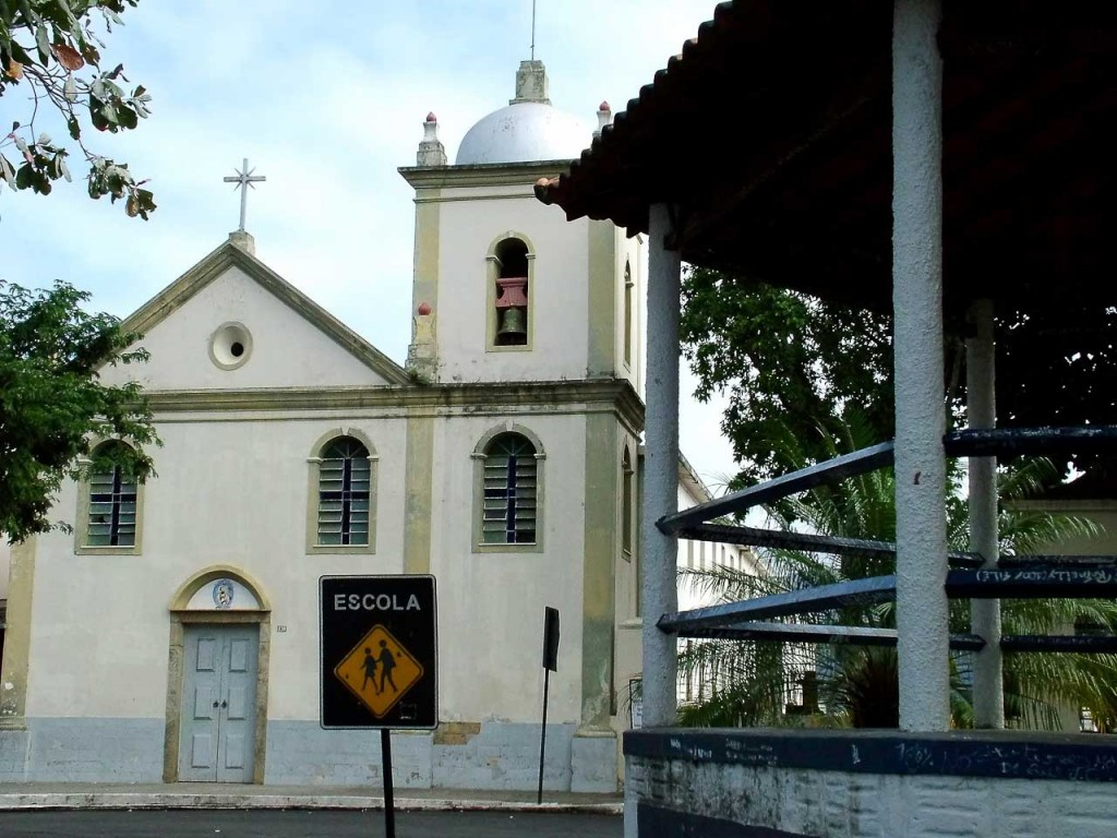 Turismo Religioso na Rio-Santos - Igreja Matriz de São Francisco Xavier - Itaguaí (foto Wellington Alves)