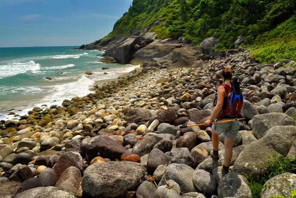 Trekking na Rio-Santos - Foto Márcio Bortolusso