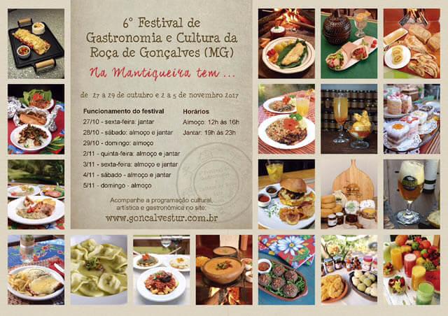 Gonçalves - Festival de gastronomia e cultura da roça