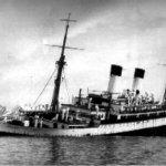 Naufrágio do navio Monte Cervantes no Canal de Beagle