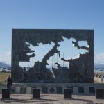 Plaza Islas Malvinas em Ushuaia