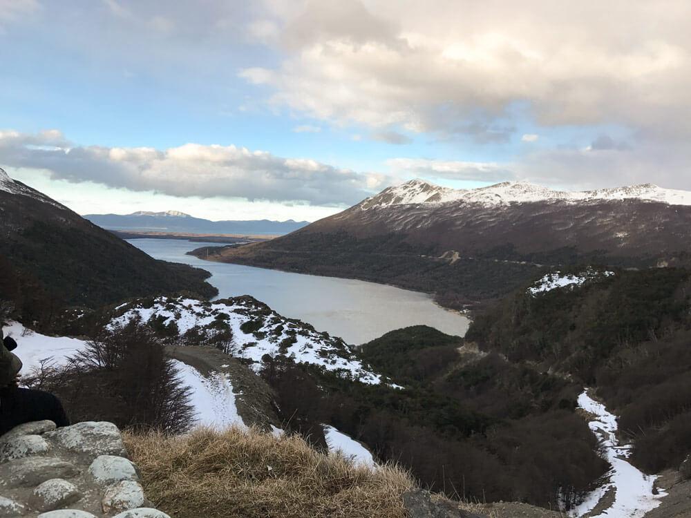 Lago escondido em ushuaia