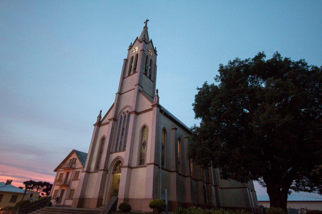 Turismo Religioso nas Serras Catarinense e Gaúcha