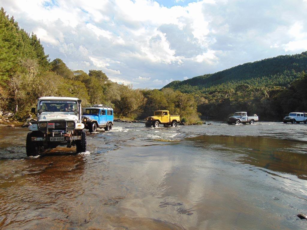 Off-road nas Serras Catarinense e Gaúcha
