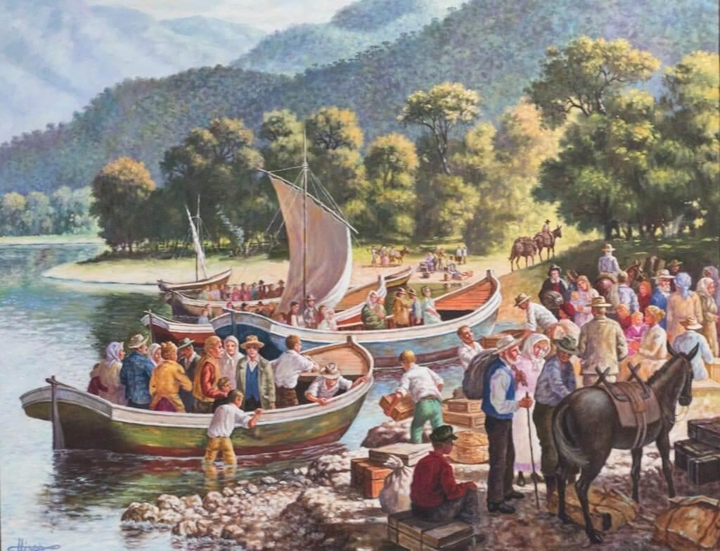 Imigração nas Serras Catarinense e Gaúcha