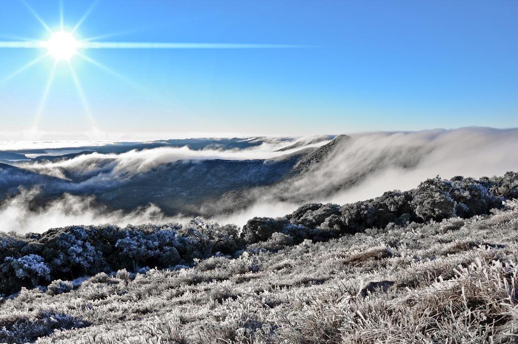 Neve nas Serras Catarinense e Gaúcha