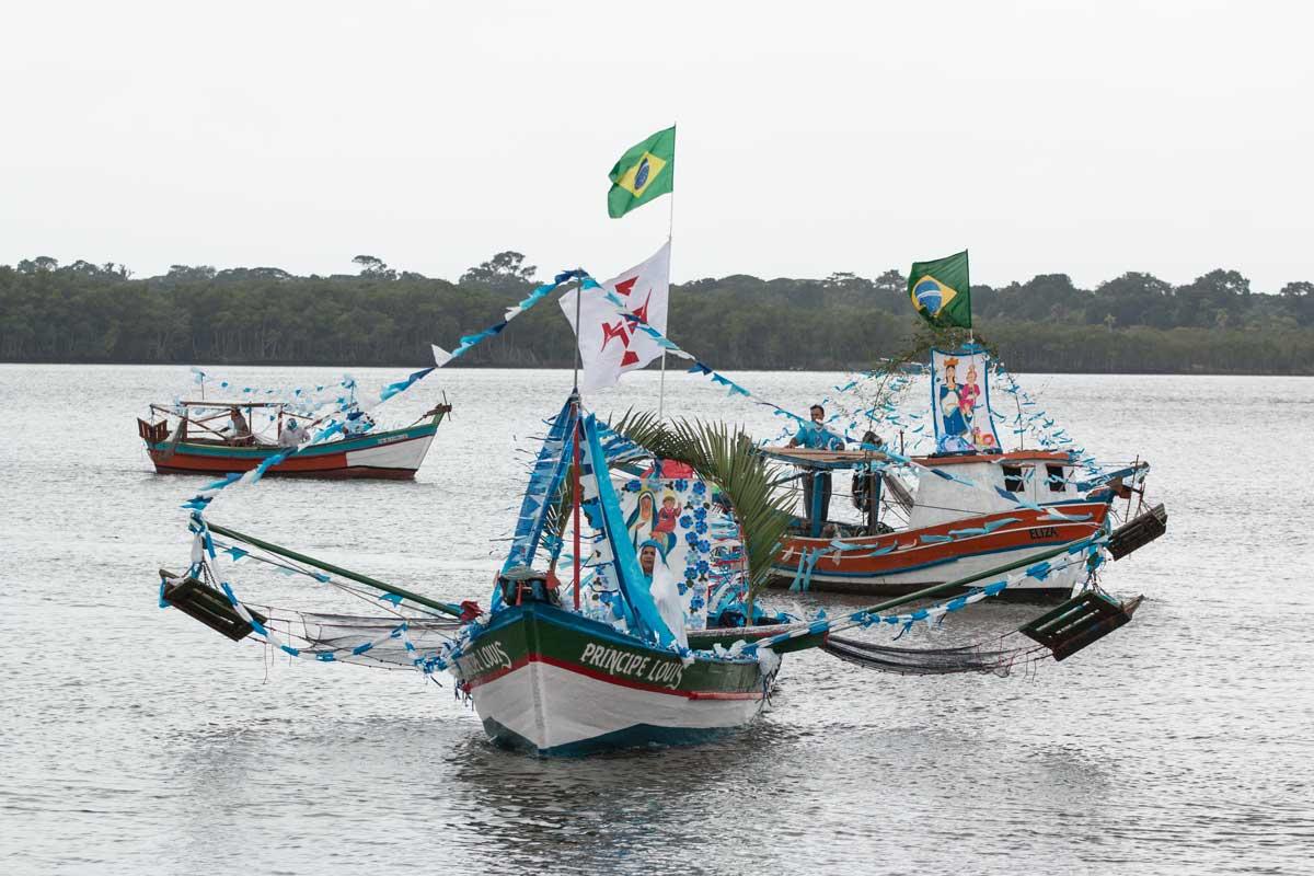 Festa para Nossa Senhora dos Navegantes em Cananéia-SP