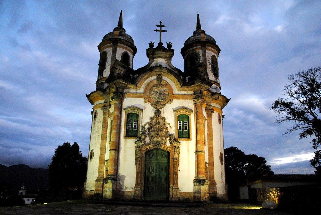 Igreja de São Francisco de Assis em Ouro Preto