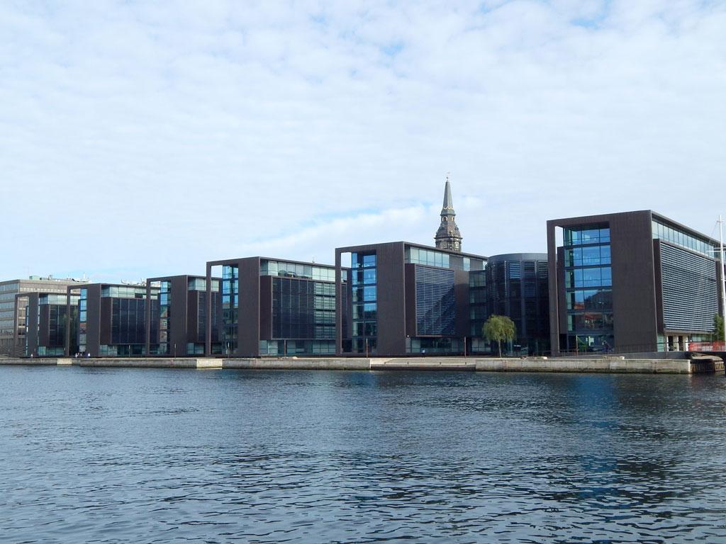 Arquitetura Moderna dos Ministérios Dinamarqueses