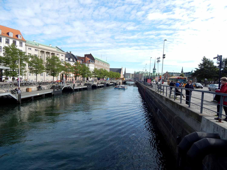 Canais de Copenhagen