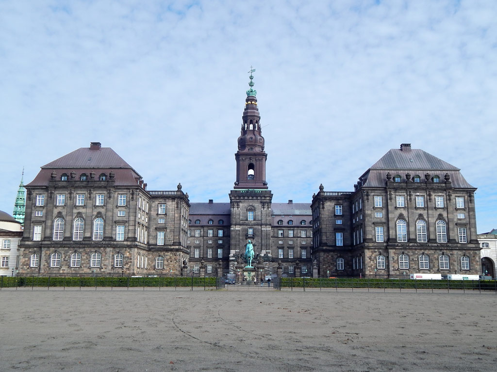 Palácio de Christiansborg - Parlamento Dinamarquês