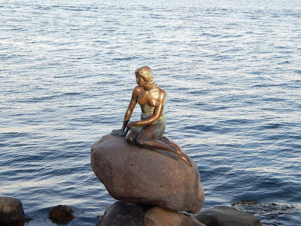 Pequena Sereia - Símbolo de Copenhagen