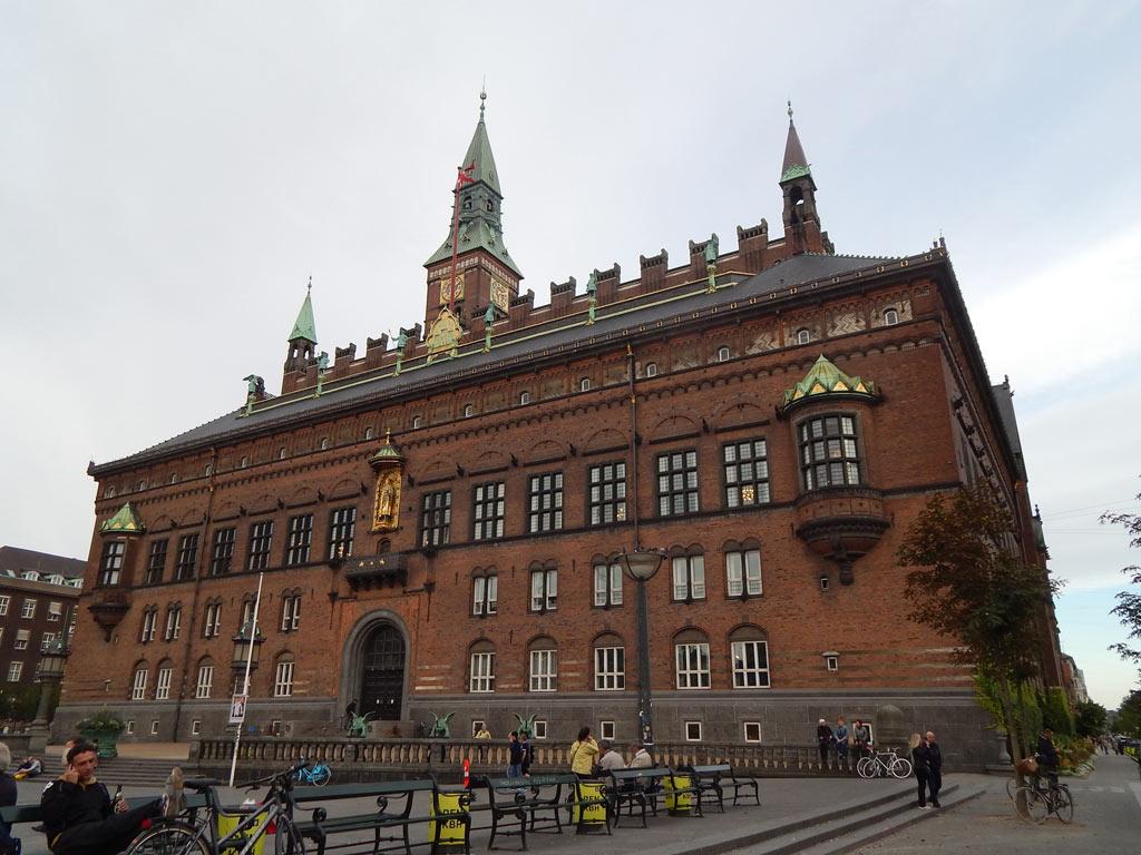 Radhuset - Prefeitura de Copenhagen