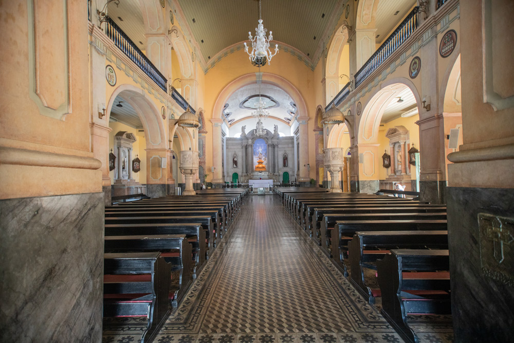 Interior da Catedral Metropolitana de Manaus - Fotos: Márcio Masulino